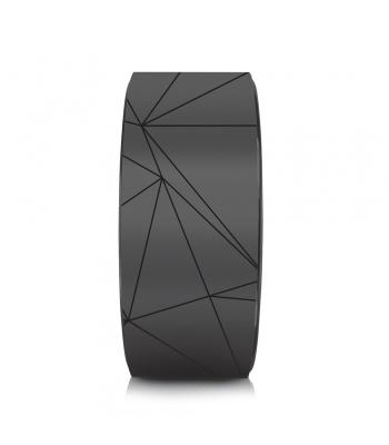 roue de yoga geo noire