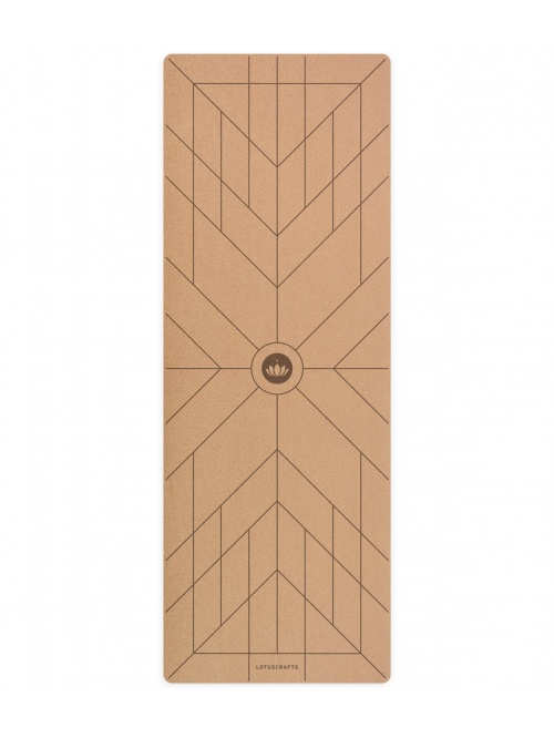 Tapis de yoga en liège align 183cm