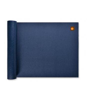 tapis de yoga bleu marine