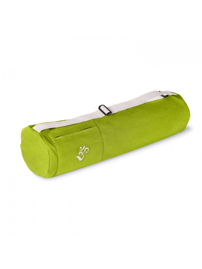 sac à tapis de yoga vert bambou coton bio