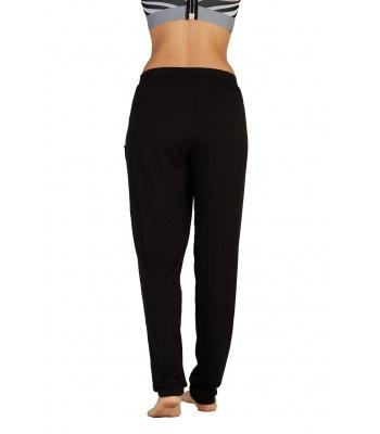 De Yoga Searcher Pantalon Bindu Noir Fluide f7gIybY6v