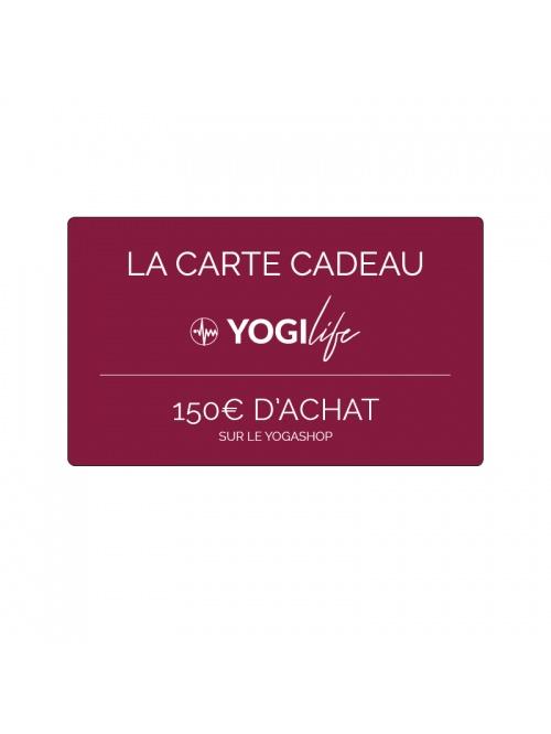 Carte cadeau yogilife valeur 150€
