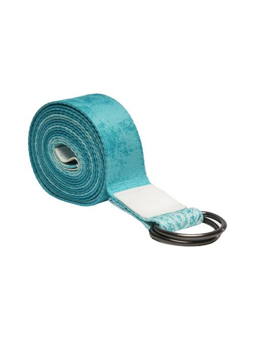 Sangle de yoga mandala turquoise 240cm