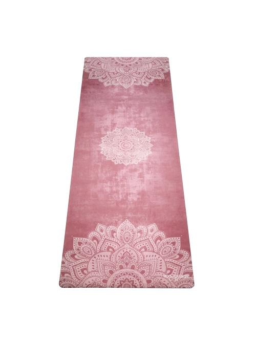 Tapis de yoga antidérapant Mandala Ginger 3,5mm L178cm