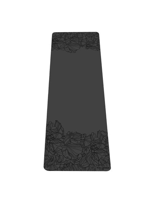 Tapis de yoga Infinity AADRIKA noir non glissant épais et long