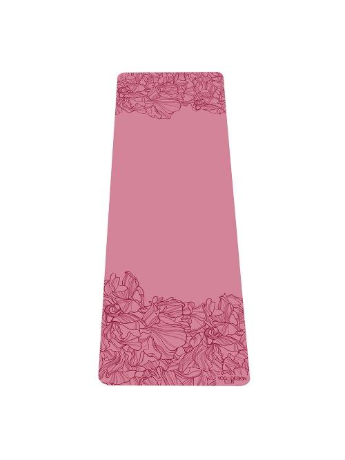 Tapis de yoga AADRIKA rose non glissant épais et long