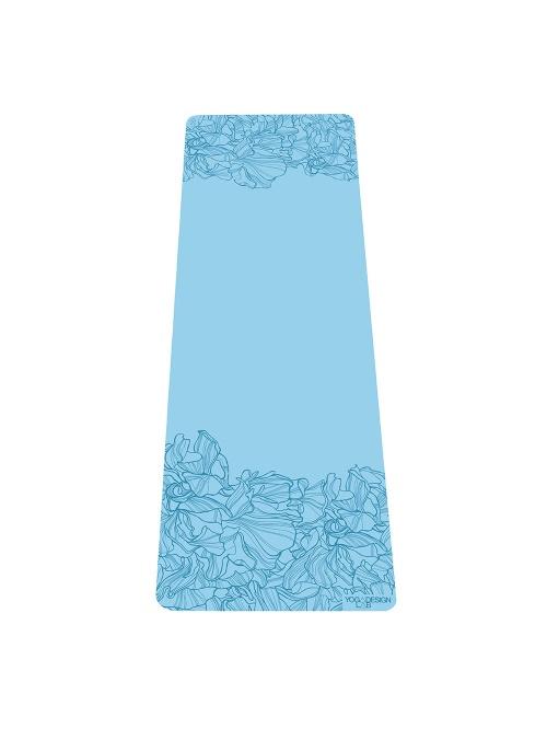 Tapis de yoga Infinity AADRIKA aqua non glissant épais et long