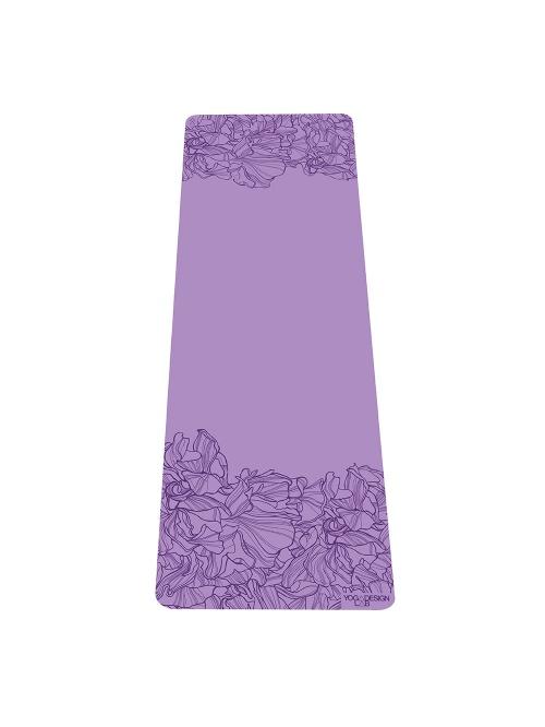 Tapis de yoga AADRIKA lavande non glissant épais et long