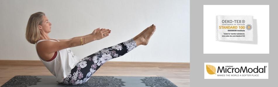 legging de yoga et pantalon de yoga respectueux de l'environnement