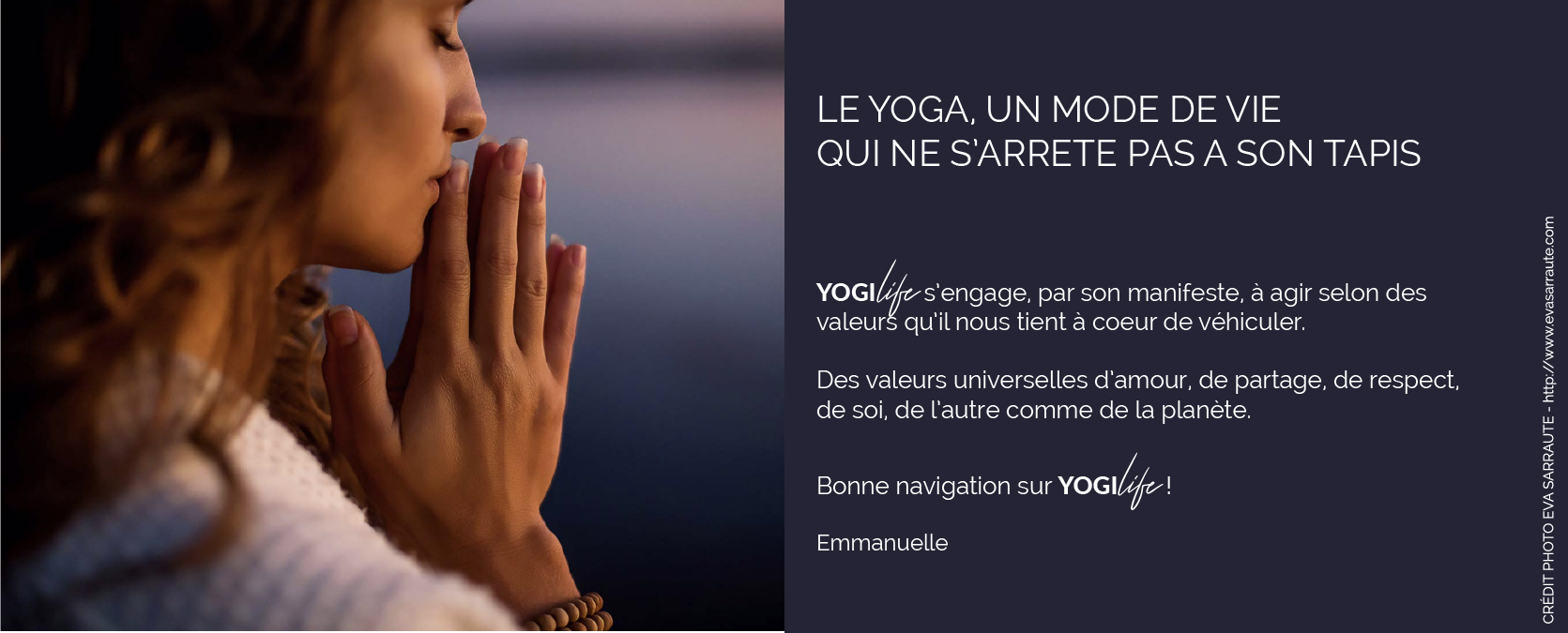 Le manifeste Yogilife