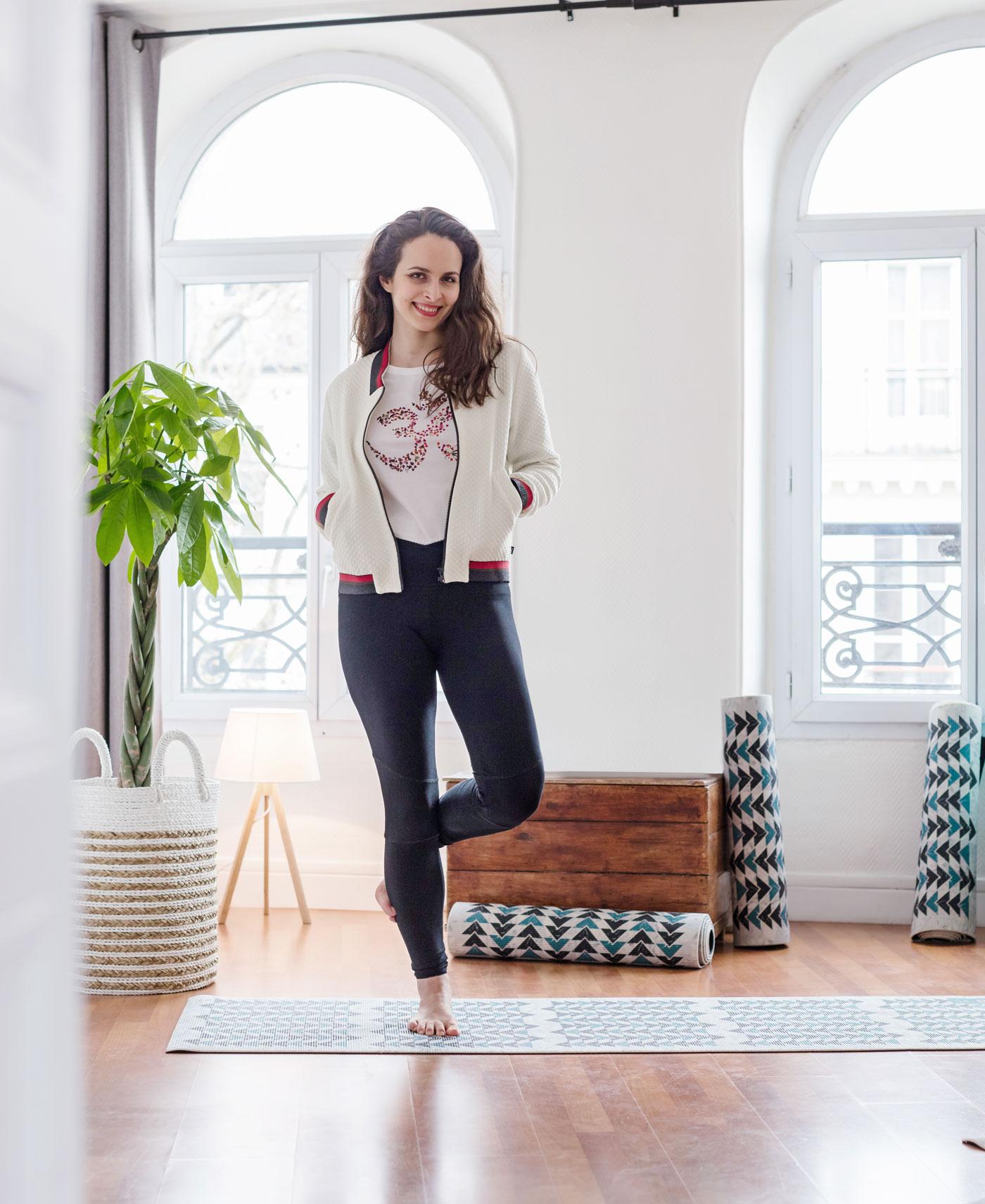 vêtements de yoga en coton bio